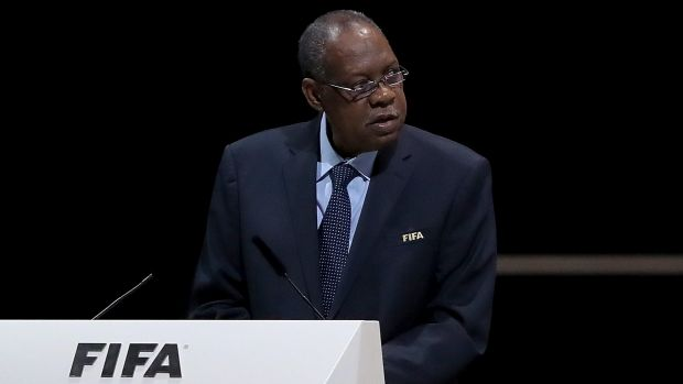 """""""It is a clear message we understand the need for change"""": Acting FIFA President Issa Hayatou."""