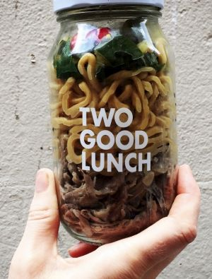 Two Good Lunch is sold to corporate customers to feed domestic violence victims and the homeless.