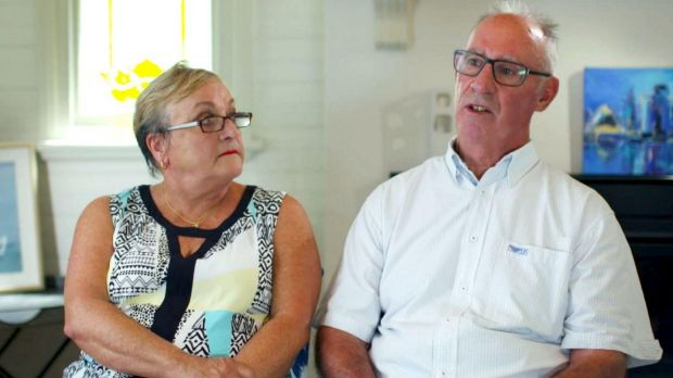 Sandra and Robert Lane have declared their support for their daughter.