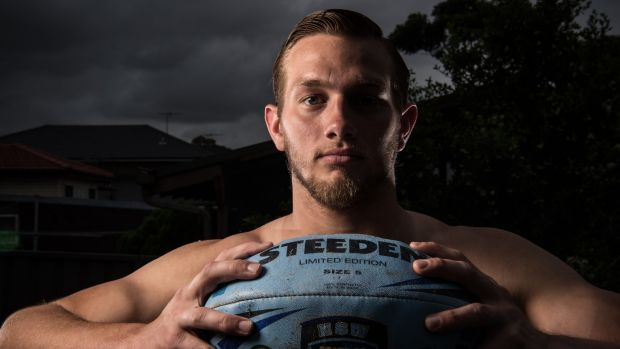 The switch: Ryan Burroughs wants to be as good as Jarryd Hayne.