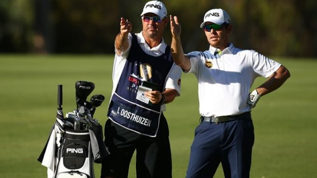 Louis Oosthuizen was relaxed, despite dropping two late shots on day three of the $1.75 million Perth International.