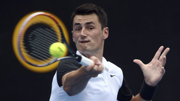 Through to the final: Bernard Tomic.
