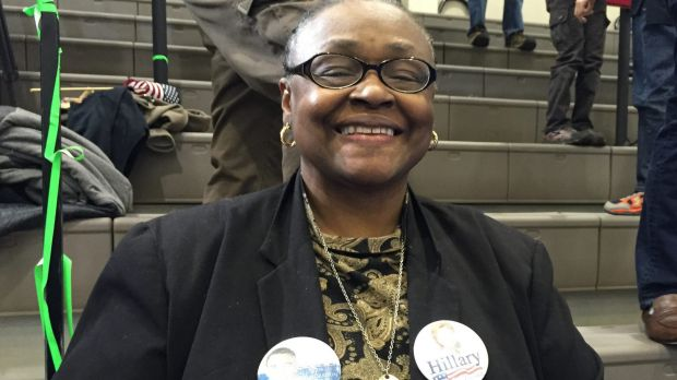 Mary Sobah, a 69-year-old retired nurse, is returning to the Clinton camp after voting for Barack Obama.