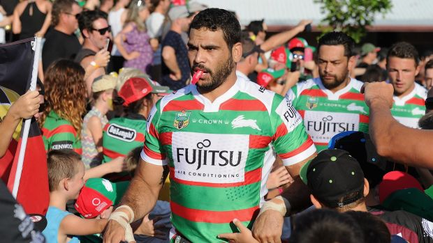 Superstar: Greg Inglis is worth every cent he gets from South Sydney.