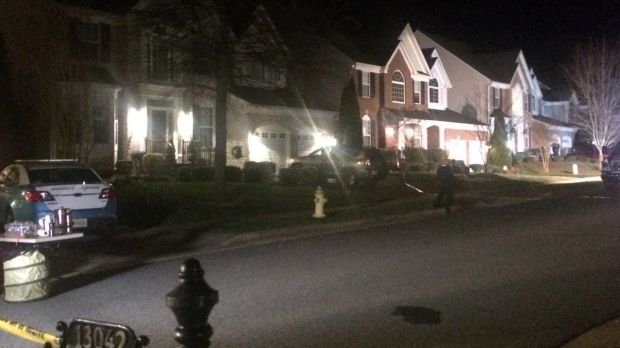 The house where three Prince William County police officers were shot responding to a domestic violence call.
