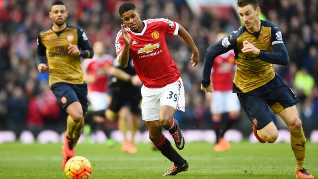 Bolter: Marcus Rashford will need to play the game of his life to convince Hodgson to take him to the Euros.