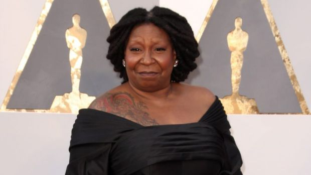 ... and this is former Oscar winner Whoopi Goldberg. Have you got that?
