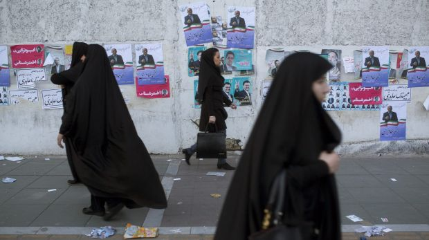 Iranians voted on Friday in parliamentary elections, the country's first since its landmark nuclear deal with world powers.