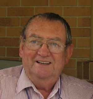 Moreton Bay Regional Council mayoral candidate Barry Bolton.
