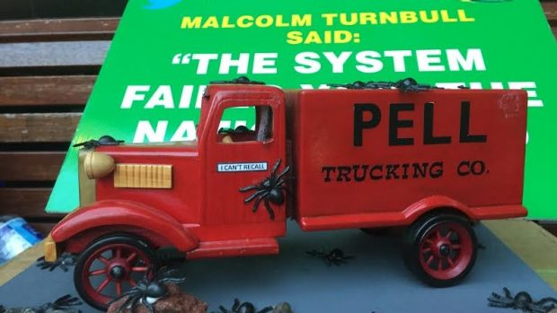 The infamous 'Pell truck'.