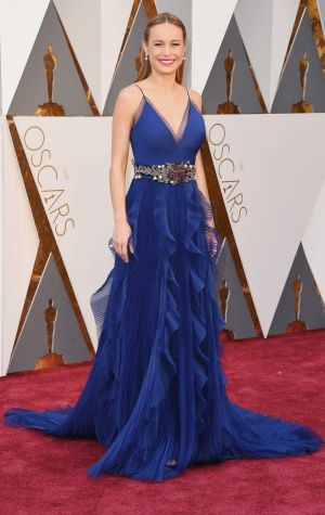 Brie Larson attends the 88th Annual Academy Awards.