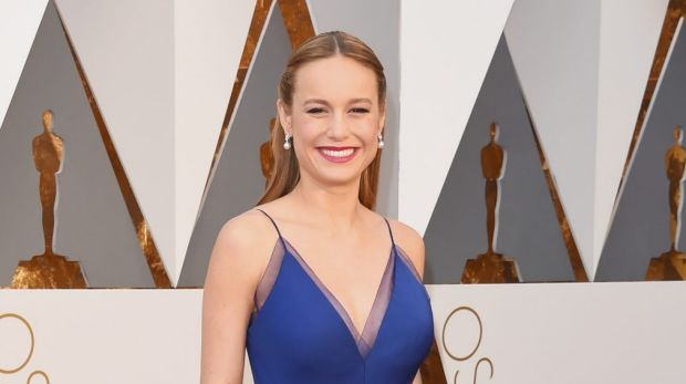 Brie Larson won best actress for Room at the 88th Annual Academy Awards at Hollywood & Highland Center in Hollywood, ...