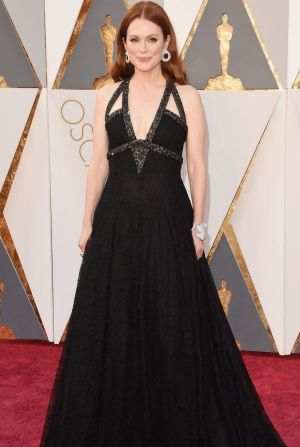 Julianne Moore attends the 88th Annual Academy Awards.