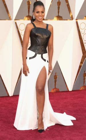 Actress Kerry Washington attends the 88th Annual Academy Awards