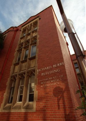 Relic: the Richard Berry Building at the University of Melbourne commemorates a man famed for racist and outdated ideas.