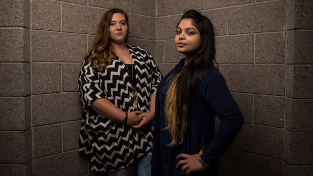 Rachael Withers (left) and Tasnuva Rouf worked as photographers and PR consultants for Little Masterpiece Studio.
