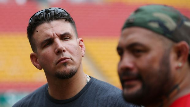 Shared mental toughness: Frank Mir and Mark Hunt.