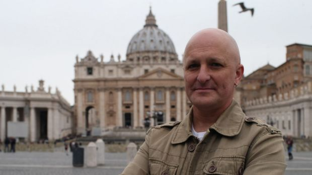 Andrew Collins says clerical abuse victims from Ballarat have made a 'formal request via fax' for a meeting with the Pope.