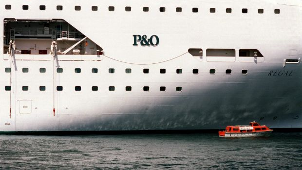 P&O says it's cruise ships are getting bigger, requiring larger berths.