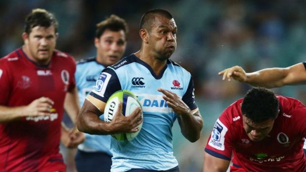 Man of the moment: Kurtley Beale knows he will be under great pressure this weekend against the Brumbies.