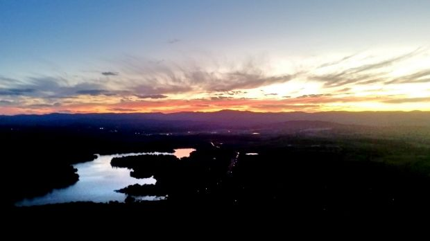 Kayla Brock - Sun settling into Australia. My friends and I decided to hike up Black Mountain to catch the sunset. We ...
