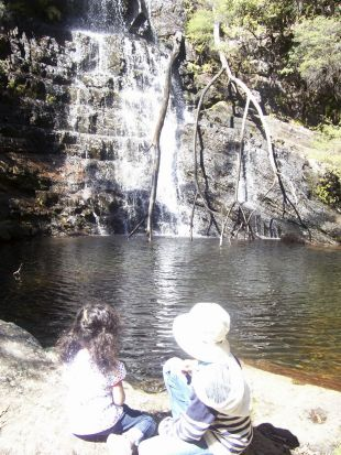 Maria Fernandes Dias - Bliss. Enjoying the serenity of the bush at Kanangra Boyd National park.