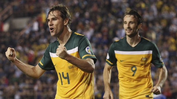 Homecoming: former Socceroos star Brett Holman is looking at a move to the A-League.