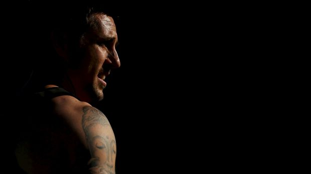 Troubled star: Mitchell Pearce says he is a binge drinker, not an alcoholic.