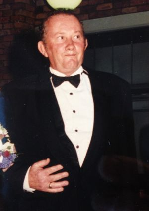 Eric Winkleman 20 years ago at his daughter's wedding, when he had enjoyed just 13 birthdays.