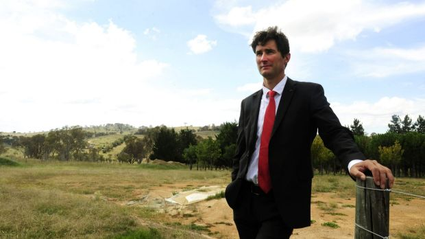 Child abuse campaigner and former Marist student Damian de Marco.