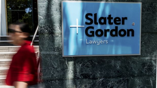 Slater & Gordon's in-house legal counsel has left the firm after just two months.