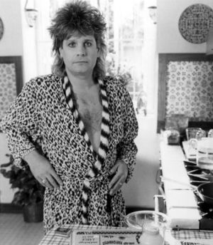 Ozzy Osbourne in 1988 from The Decline of Western Civilization, a mullet-laden tribute the early 1980s.