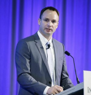 Cabcharge chief executive Andrew Skelton remains upbeat despite competition from online rivals.