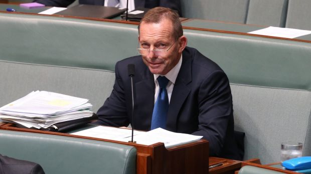 Tony Abbott, pictured during question time on Tuesday, has made it clear he favours Japan's bid for Australia's ...