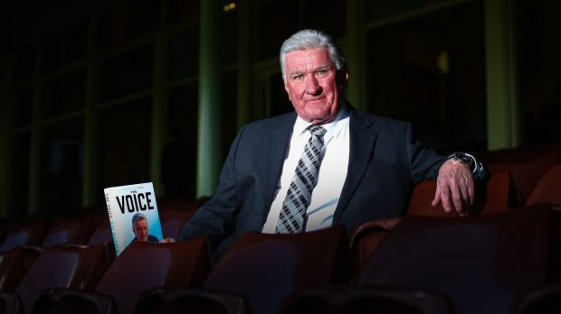 Voice of the game: Channel Nine's Ray Warren.