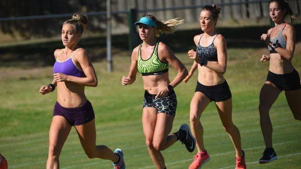 Inspired: Genevieve LaCaze (left) has made radical changes to her training regime this year.