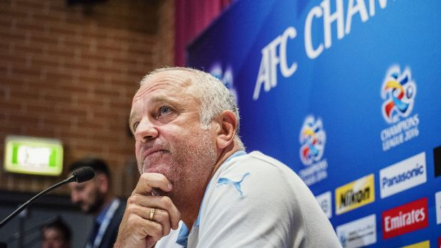 Battling: Sydney FC coach Graham Arnold is coping with injuries and a tough schedule as his team struggles to juggle ...