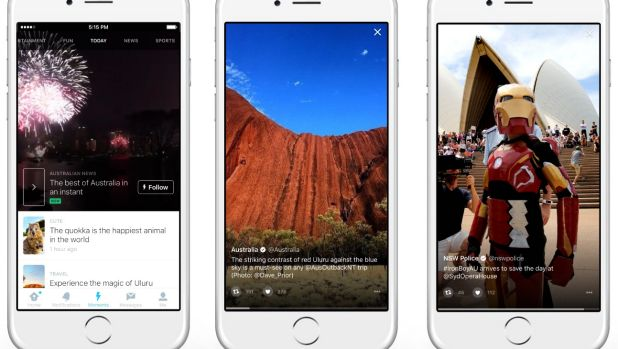 Moments are rolling out to Australian users on the web and through Twitter's apps.