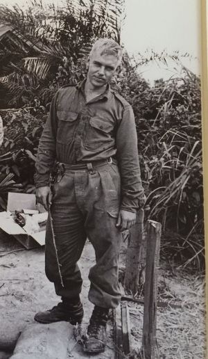 Doug Callum in Vietnam in 1968.