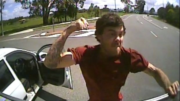 The alleged attack occurred at Caboolture on February 8.