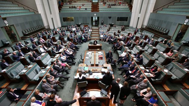 The division to suspend standing orders to allow a marriage equality vote on Wednesday.