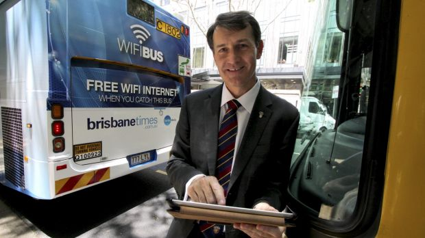 Lord Mayor Graham Quirk wants to introduce free wifi to eight suburban centres.