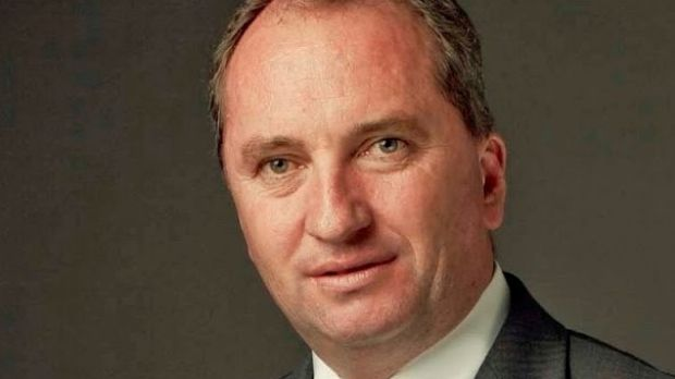 Deputy Prime Minister Barnaby Joyce opposes the Shenhua coal mine but represents the government that approved it.