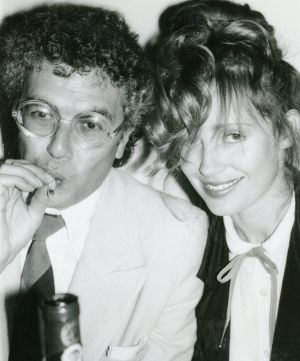 Lyndall Hobbs with Michael White.