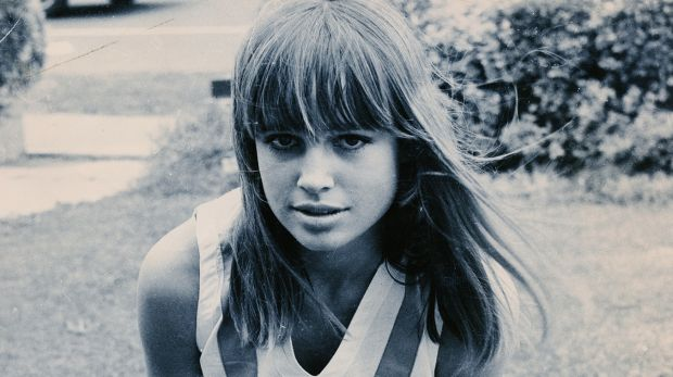 Lyndall Hobbs as a young model.