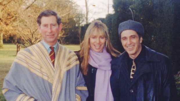 Lyndall Hobbs with Prince Charles and Al Pacino.