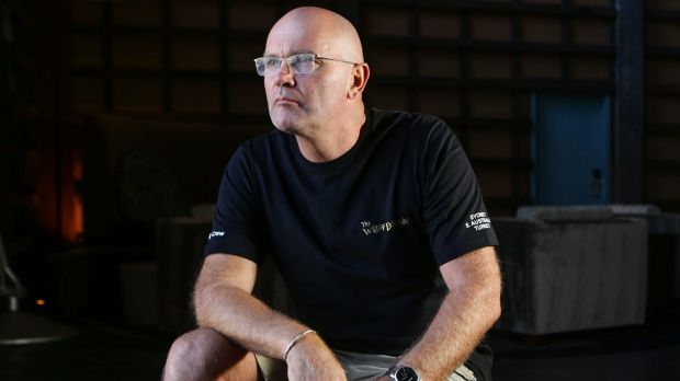 Batting great: Martin Crowe in Sydney before last year's World Cup final.