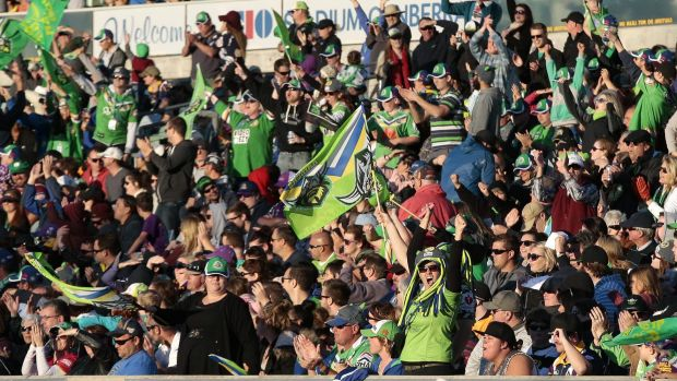The Canberra Raiders are aiming to have 15,000 members this season.