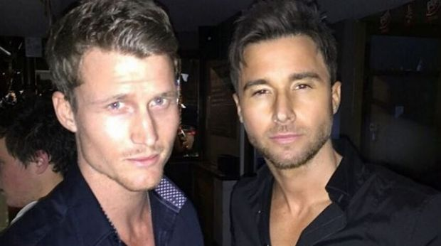 Michael Turnbull (right) rules himself and Richie Strahan (left) out of the new Bachelor as filming kicks off.