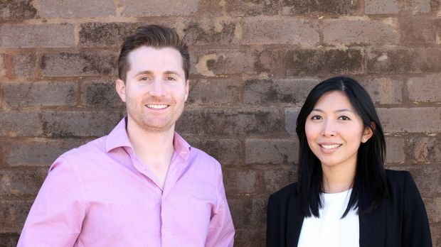 GlamCorner founders Dean Jones and Audrey Khaing-Jones have a background in finance rather than fashion.